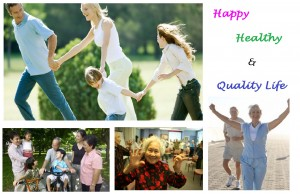 Happy Healthy Quality Life