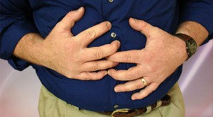 Bloated stomach or gastric pain