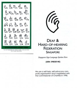 Deaf and Hard of Hearing Federation Information
